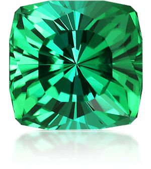 Faceted tourmaline by Dyer
