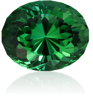 Faceted gemstone