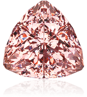 Faceted morganite by Dyer