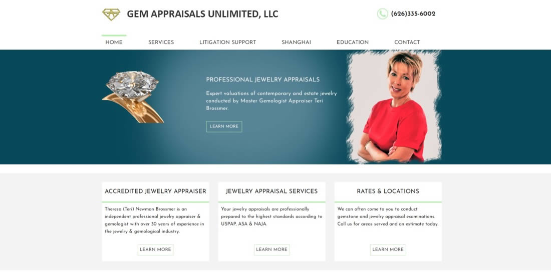 gem appraisals unlimited llc los angeles jewelry appraiser